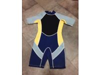 Child's summer wetsuit in good condition