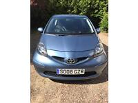 Toyota Aygo with very low mileage.