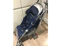 Almost new blue MACLAREN techno XT pushchair