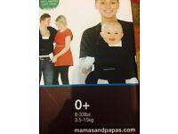 Mamas & Papas Flo Baby Wrap/Carrier - Navy Blue Colour