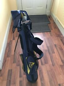 Set of Junior Golf Clubs with bag