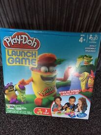 Play doh launch game