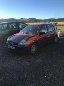 Renault Clio 1.4 petrol