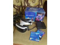 Ps4 vr bundle like new