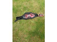 Small kitesurfing harness