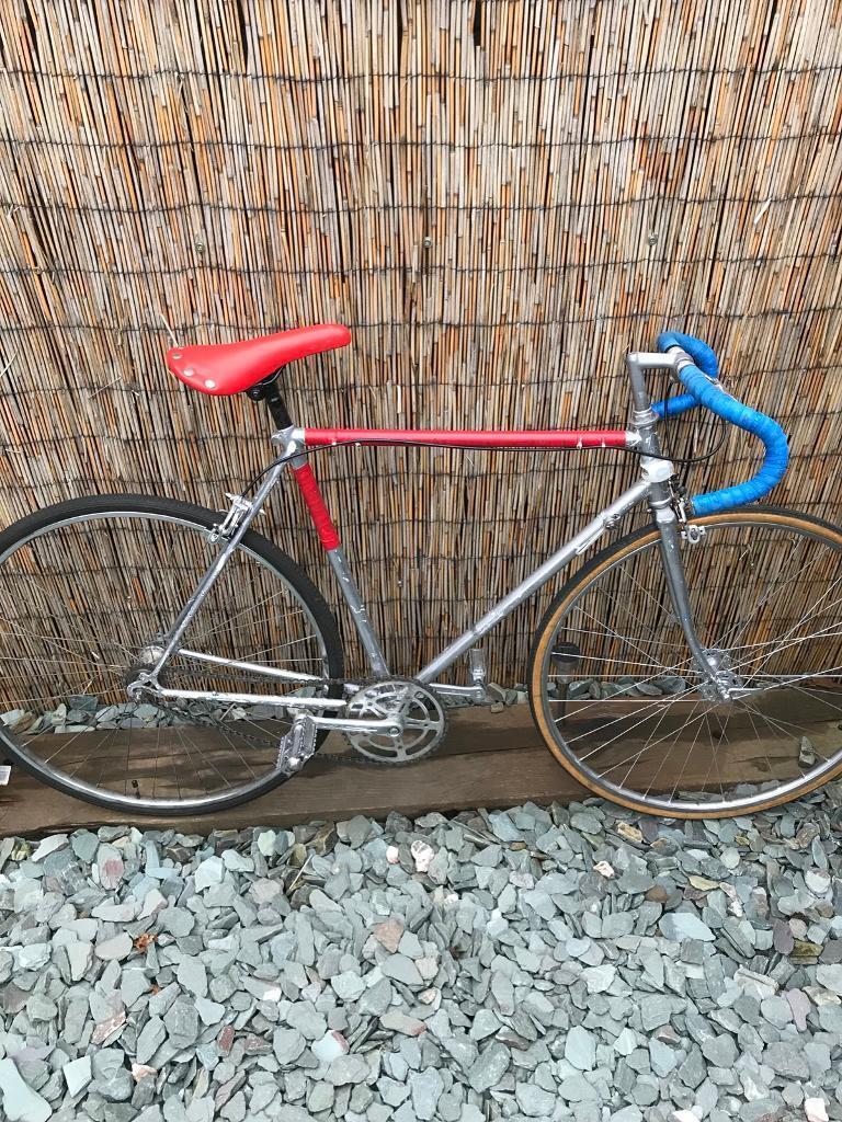 Old racing push bike
