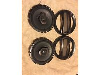 PIONEER TS-A1723i 17cm 3-Way Coaxial Car Speakers 300W