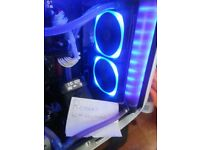 Nzxt Hue+ with 4 strips & 2x 140mm nzxt rgb fans