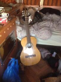 Classical nylon string guitar