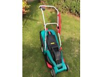 **BOSCH ROTAK 40GC**ELECTRIC LAWNMOWER**40cm BLADE**ONLY USED TWICE**BARGAIN**NO OFFERS**