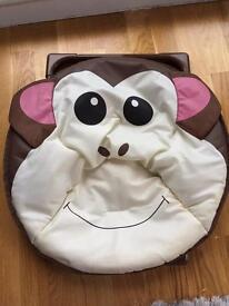 Children's fold up monkey chair