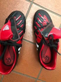 Adidas boys trainers. Football. As new condition. Size 2.