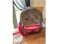 Stunning girls joules cat backpack