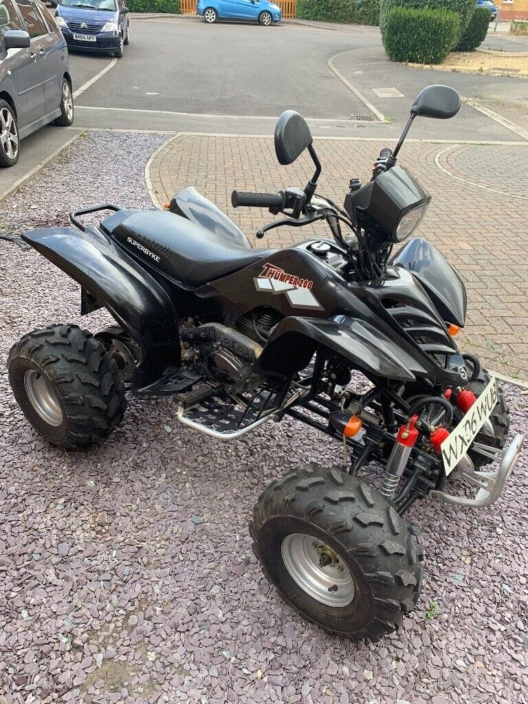 Road Legal 200cc Shineray Quad In Westbury Wiltshire