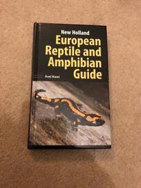 European Reptile And Amphibian Guide Book