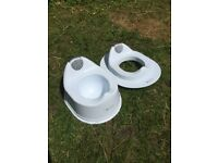 Baby Weavers potty and toilet seat