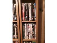 120 mixed dvds and some boxsets. Open to offers