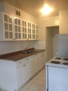large Completely renovated 1 bedroom Pape and Cosburn June 01.