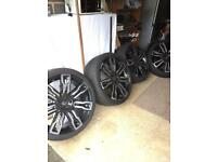 Hawke Wheels for Range Rover Evoke