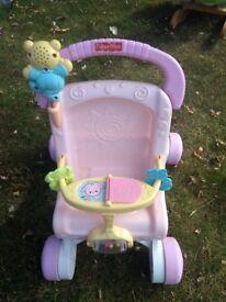 Kids baby stroller toy