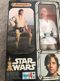 Vintage Kenner Luke Skywalker never been out its box