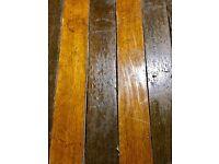Reclaimed Keruing Hardwood Flooring - 85 m2 in stock!