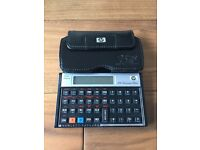 HP12c Financial Calculator with leather case