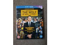 The wolf of wall street blu-ray. In good working condition.