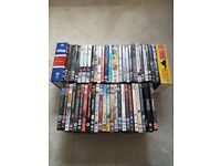 52 movies plus Lee Evans collection