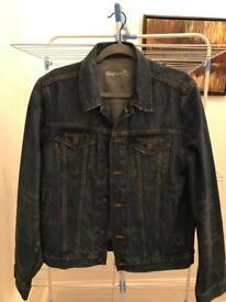 GAP men's denim jacket in medium.