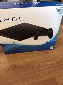 Latest PS4 slim only 3 months old warranty and receipt