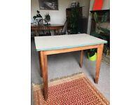 Vintage Danish formica desk / table