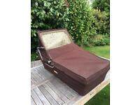 Carry cot Vintage Silver Cross Cameo. Brown Corduroy Fabric. As New. Nuthall NG6 Nottingham