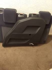 Full set car seats and door panels from a 5door Ford fiesta 05 ex condition