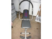 AB KING PRO WORKOUT BENCH IDEAL FOR WORKING OUT AT HOME, GOOD CONDITION