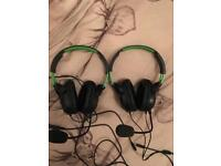 turtle beach ear force recon 50x gaming headset RRP £34.99 each