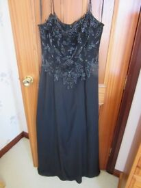 size 18 full length party dress /ball gown