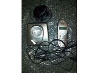 Wireless home phone landline, With recharging doc and Leeds