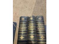 Lloyd's Encyclopaedic Dictionary (complete set) printed 1895