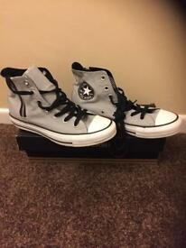 GREY CONVERSE SIZE 6 (39) brand new in box