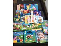 30 children's books and colour books bundle, £12