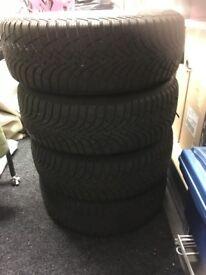 4 Audi Winter Tyres