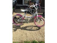 Girls 18inch bike good condition collection only