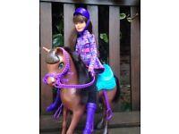 Barbie Skipper with a Horse