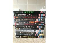 12 Horror DVD's *some great titles*