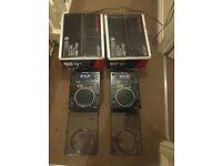 Pioneer CDJ 350 CD/MP3 Turntables