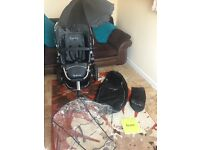 Quinny Buzz Pram Black