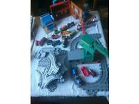 Thomas the Tank engine tracks and trains