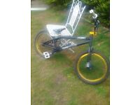 BIKE FOR SALE -- A BANG TIDY VOODOO MALICE BMX + A BRAND NEW ONEAL HELMET