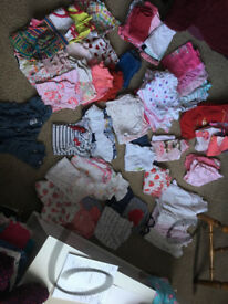 6-9 Month Girl Bundle (77 items)